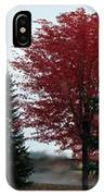 Crimson  IPhone Case