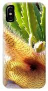 Crimson Starfish Flying Plant Bloom IPhone Case