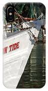 Crimson Tide Bow IPhone Case