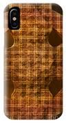 Criss-cross IPhone Case