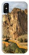 Crooked River Towers IPhone Case