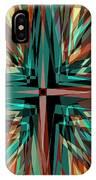 Cross Burst 2 IPhone Case