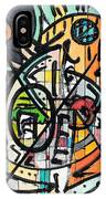 Cross Section Of Time IPhone Case