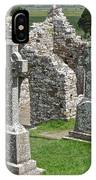 Crosses Of Clonmacnoise IPhone Case