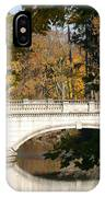 Crossing Over Into Autumn IPhone Case