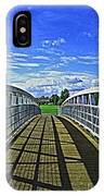 Crossing Over Bridge IPhone Case