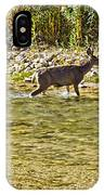 Crossing The River IPhone Case