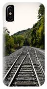 Crossing Tracks IPhone Case