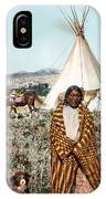 Crow Indian 1902 IPhone Case