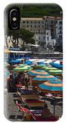 Crowded Beach IPhone Case