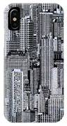 Crowded City IPhone Case