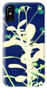 Crown Of Thorns - Blue IPhone Case