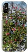 Crown Of Thorns - Featured In Beauty Captured And Nature Photography Groups IPhone Case