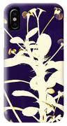Crown Of Thorns - Indigo IPhone Case