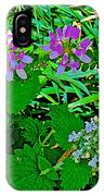 Crown Vetch And Catnip In Pipestone National Monument-minnesota IPhone Case