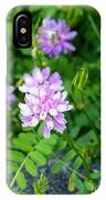 Crown Vetch Wildflowers IPhone Case