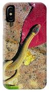 Crowned Snake IPhone Case