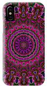 Crushed Pink Velvet Kaleidoscope IPhone Case