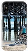 Crusin The Beach IPhone Case