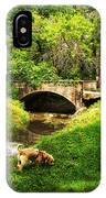 Cruz At Deer Creek Bridge Dwight Il IPhone Case