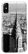 Crysler Building In New York City IPhone Case