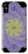 Crystal Blue Salvia IPhone Case