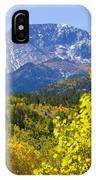 Crystal Creek Autumn IPhone Case