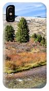Crystal Creek In The Gros Ventre IPhone Case