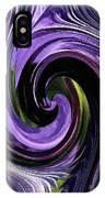 Crystal Fountain Twirls IPhone Case