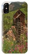 Crystal Mill Wildflowers IPhone Case