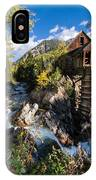 Crystal Mills Vertical IPhone Case