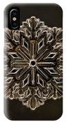 Crystal Snowflake IPhone Case
