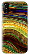 Crystal Waves Abstract 2 IPhone Case