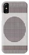 Crystal White And Gray Dots Design Pattern Shade Deco Decoration IPhone Case