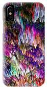 Crystalline Crimsonicity IPhone Case