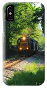 Csx Green Tunnel IPhone Case