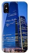 Cuatro Torres Business Area IPhone Case