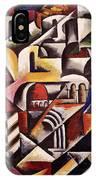 Cubist Cityscape, 1914 IPhone Case