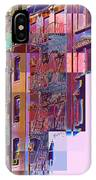 Colorful Old Buildings Of New York City - Pop-art Style IPhone Case