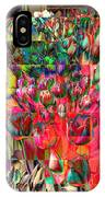 Tulips Of Many Colors - Nyc Markets IPhone Case
