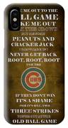 Cubs Peanuts And Cracker Jack  IPhone Case