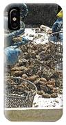 Culling Oysters IPhone Case
