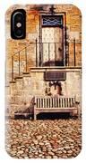 Culross Sketches 1  Scotland IPhone Case