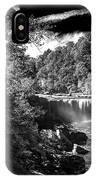 Cumberland Falls Seven Bw IPhone Case