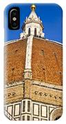 Cupola On Florence Duomo IPhone Case