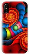 Curbisme-103 IPhone Case
