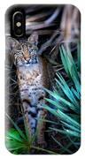 Curious Bobcat IPhone Case