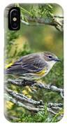 Curious Warbler IPhone Case