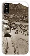 Curry Mine.virginia City Nevada.1865 IPhone Case