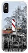 Curtin's Wharf Burlington New Jersey IPhone Case